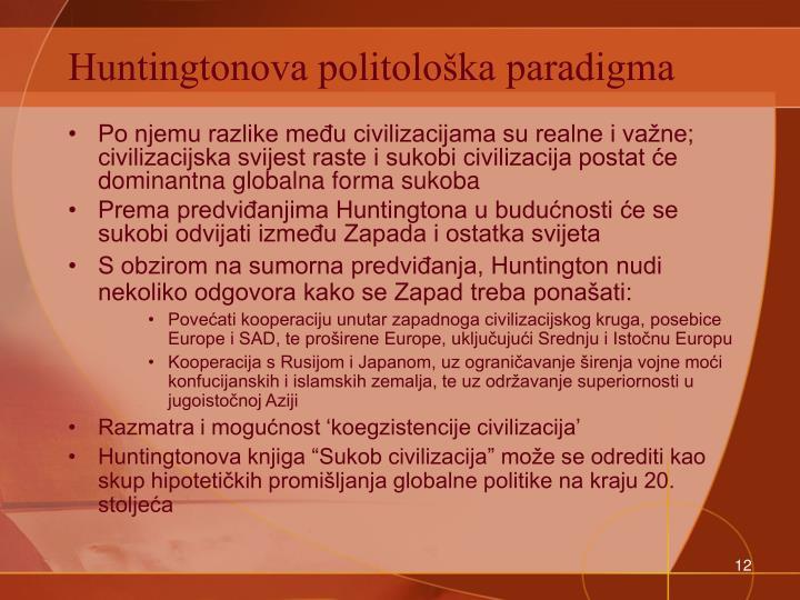 Huntingtonova politološka paradigma