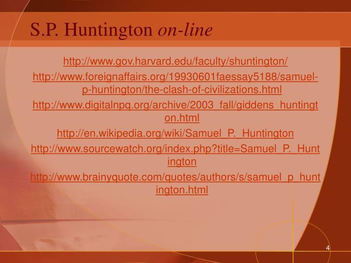 S.P. Huntington