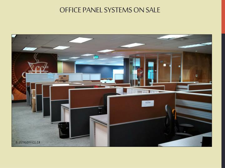 OFFICE PANEL SYSTEMS ON SALE
