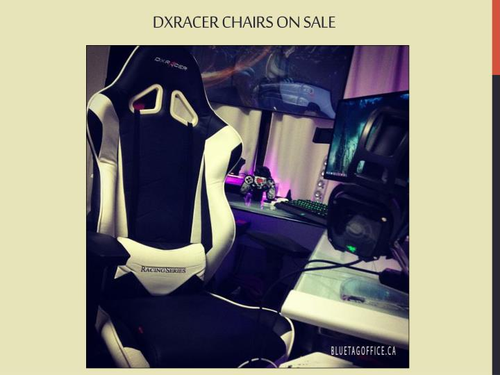 DXRACER CHAIRS ON SALE