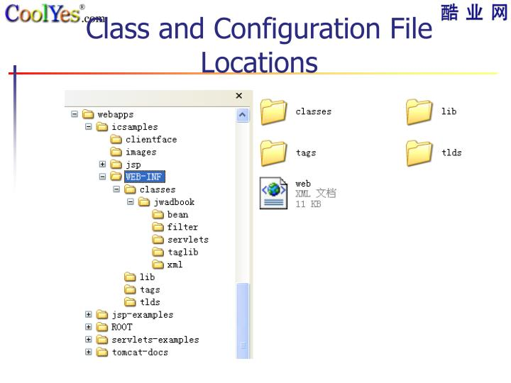 Class and Configuration File Locations