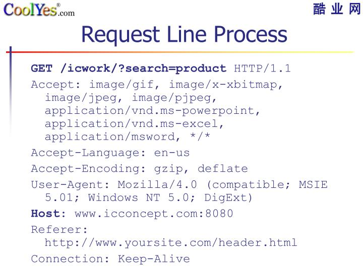 Request Line Process