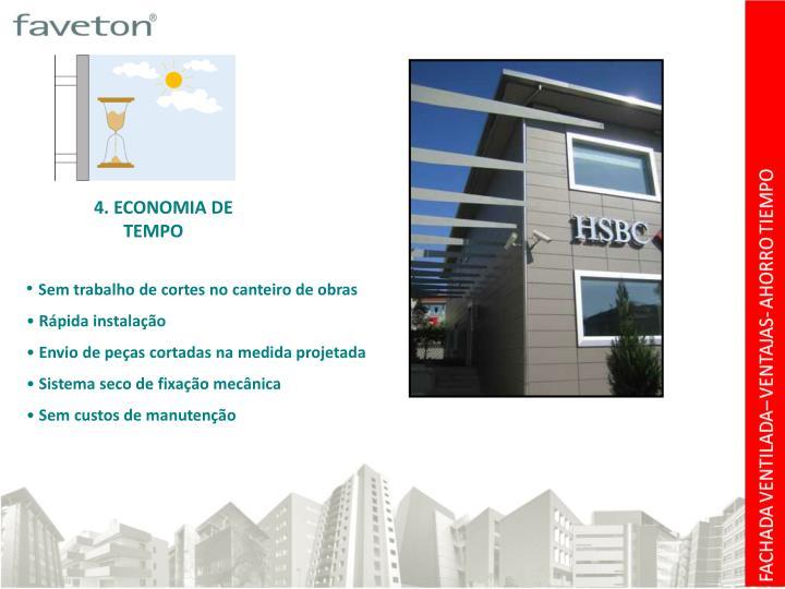 4. ECONOMIA DE  TEMPO