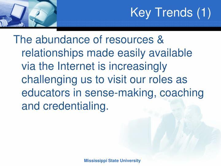 Key Trends (1)