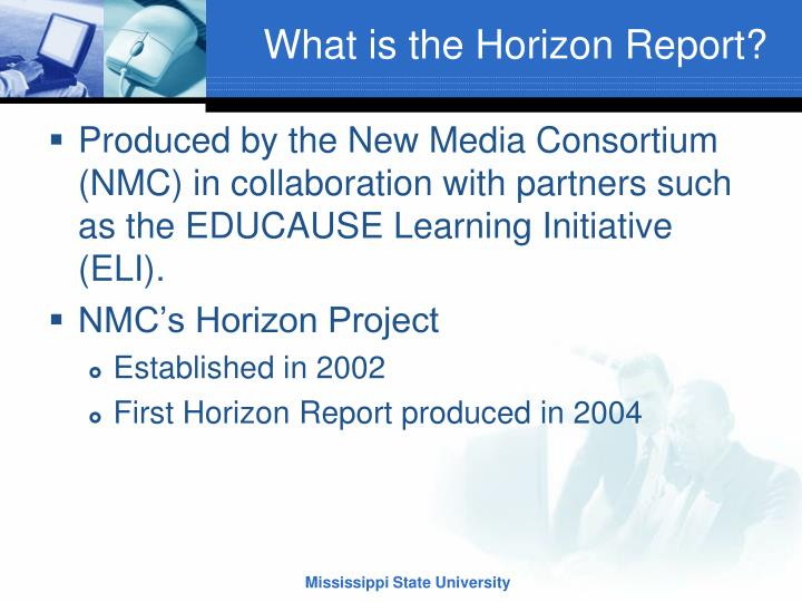 What is the horizon report