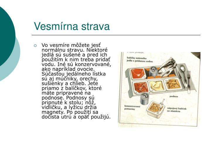 Vesmírna strava