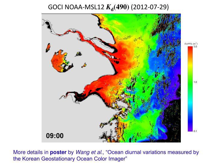 GOCI NOAA-MSL12
