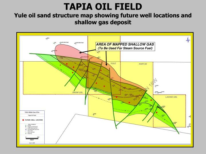 AREA OF MAPPED SHALLOW GAS