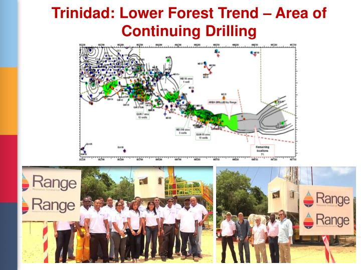 Trinidad: Lower Forest Trend – Area of Continuing Drilling