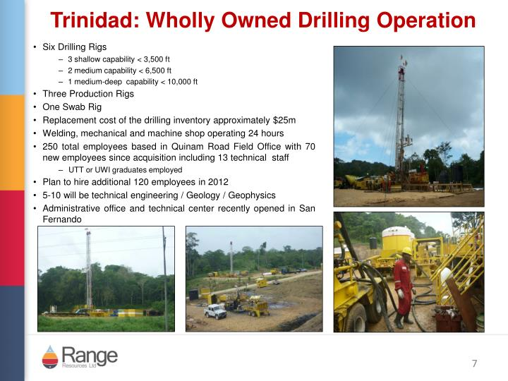 Six Drilling Rigs