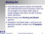 working set2