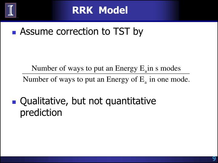 RRK  Model