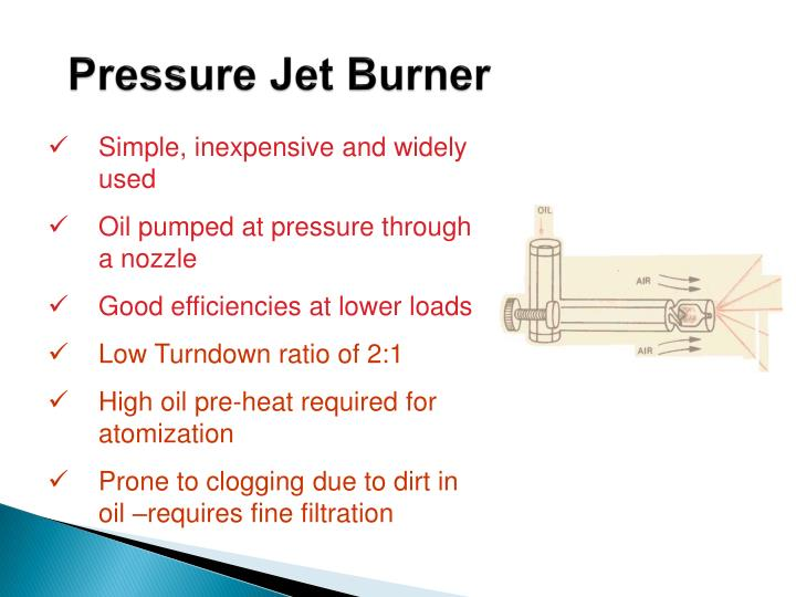Pressure Jet Burner