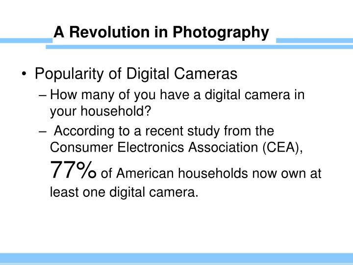 A Revolution in Photography