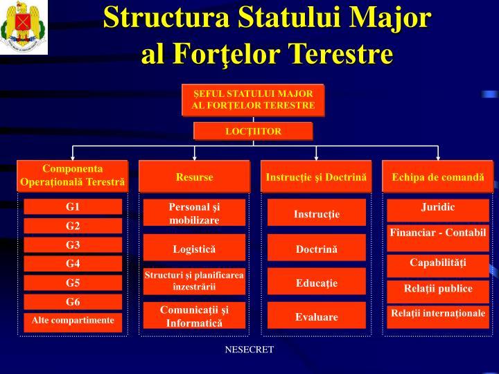 ŞEFUL STATULUI MAJOR AL FORŢELOR TERESTRE