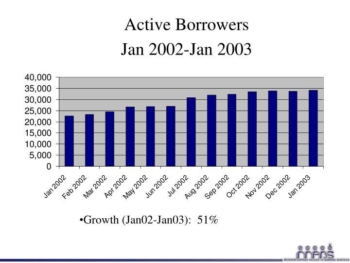 Active Borrowers