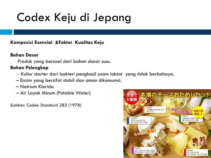 Codex Keju di Jepang