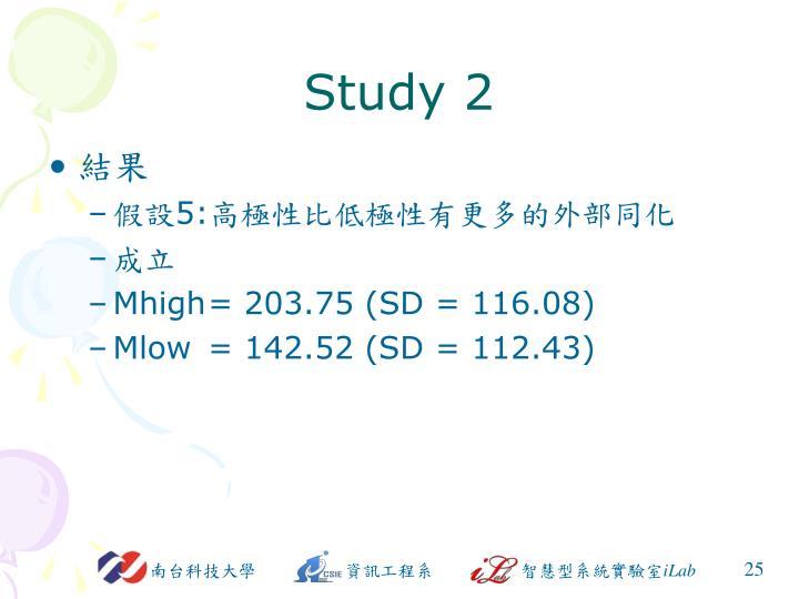 Study 2