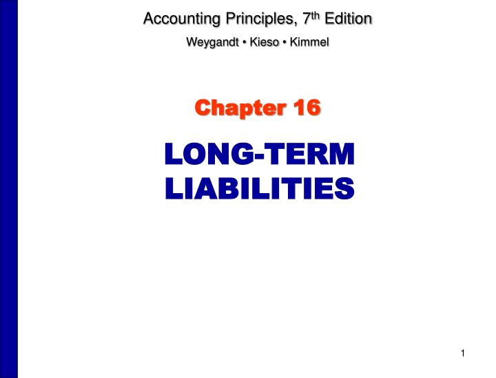 Accounting Principles, 7