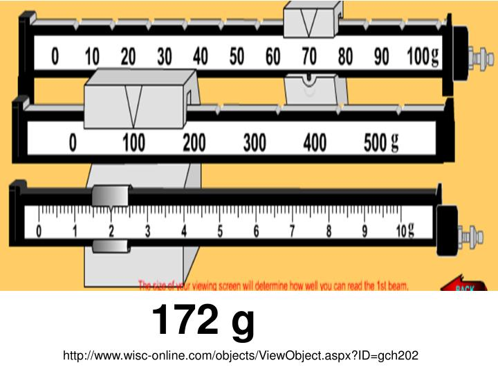 172 g