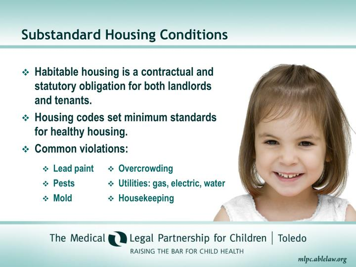 Substandard Housing Conditions