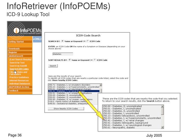 InfoRetriever (InfoPOEMs)