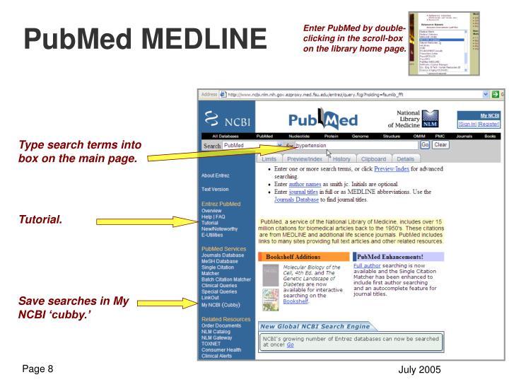 PubMed MEDLINE