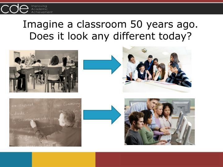Imagine a classroom 50