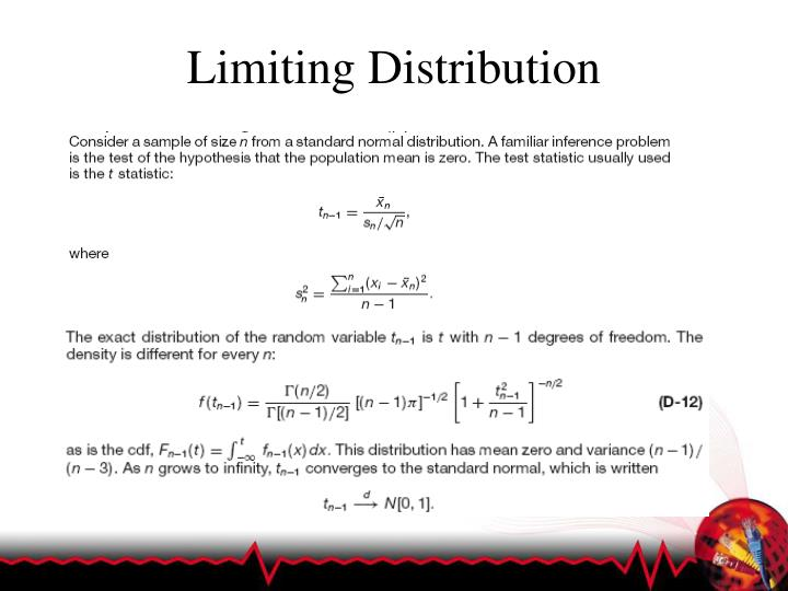 Limiting Distribution