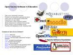 open source software in education