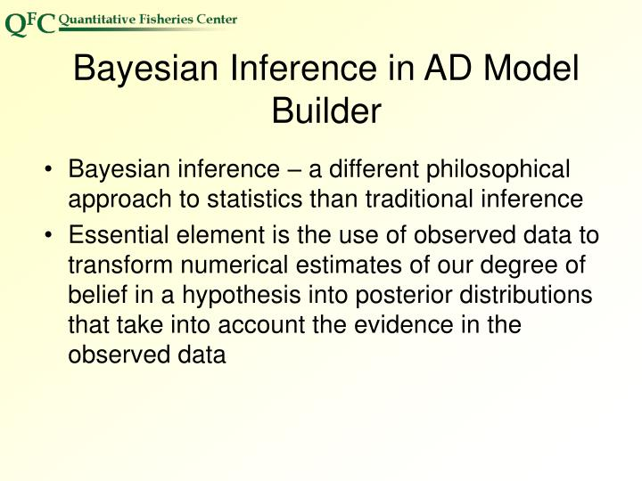 Bayesian Inference in AD Model Builder