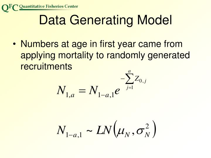 Data Generating Model