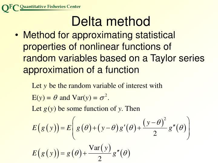 Delta method