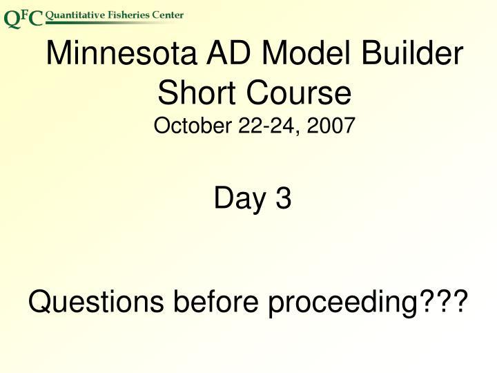 Minnesota AD Model Builder