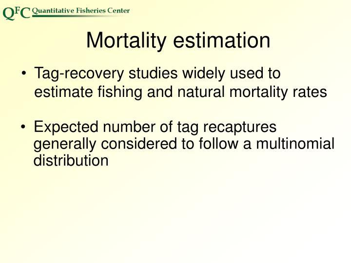 Mortality estimation