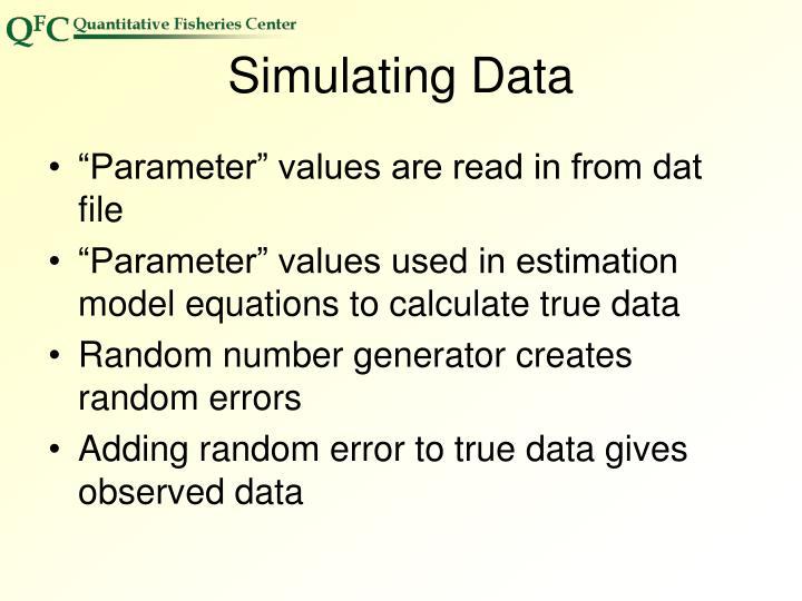 Simulating Data