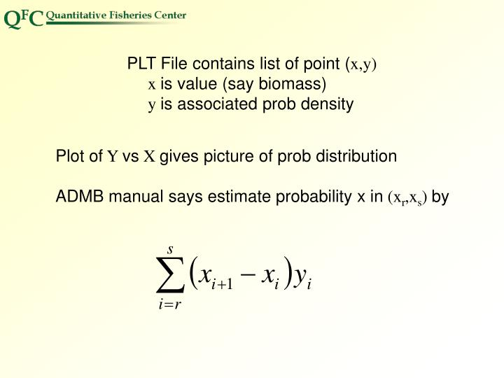 PLT File contains list of point (