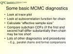 some basic mcmc diagnostics