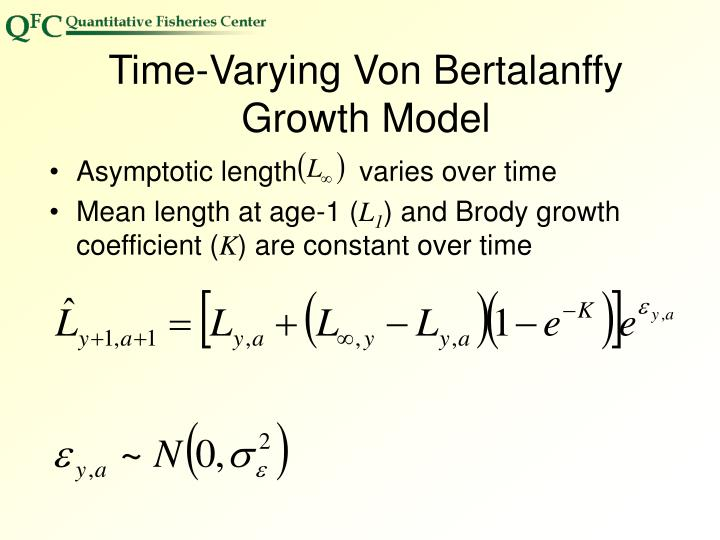 Time-Varying Von Bertalanffy Growth Model