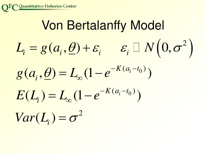 Von Bertalanffy Model