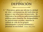 definici n3