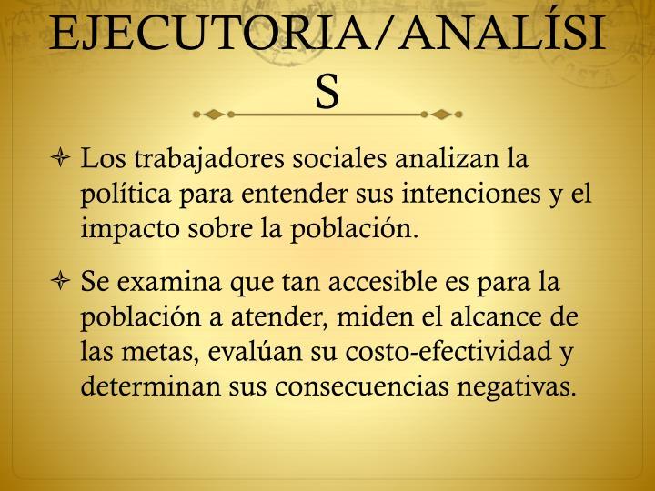 EJECUTORIA/ANAL