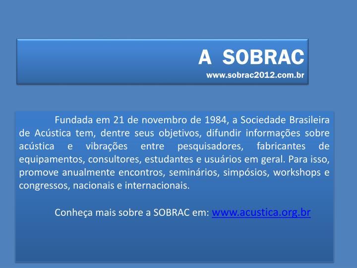 A  SOBRAC