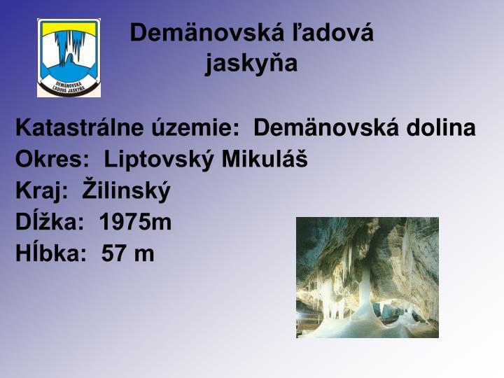 Demänovská ľadová
