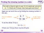finding the missing number in a ratio2