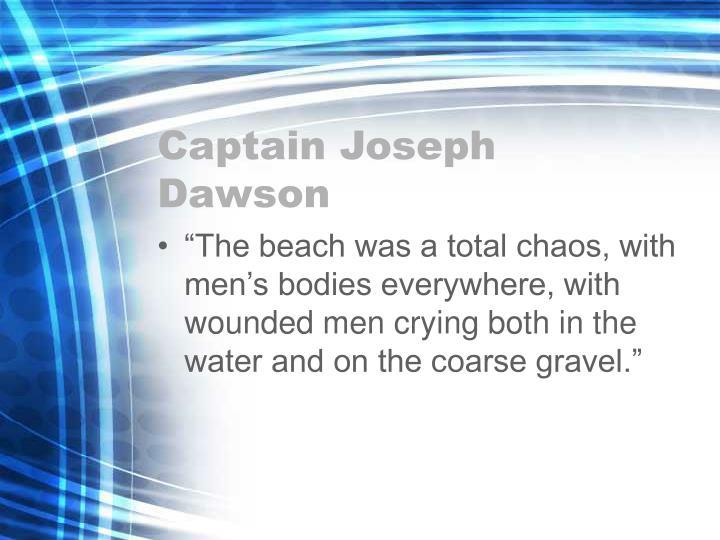 Captain Joseph Dawson