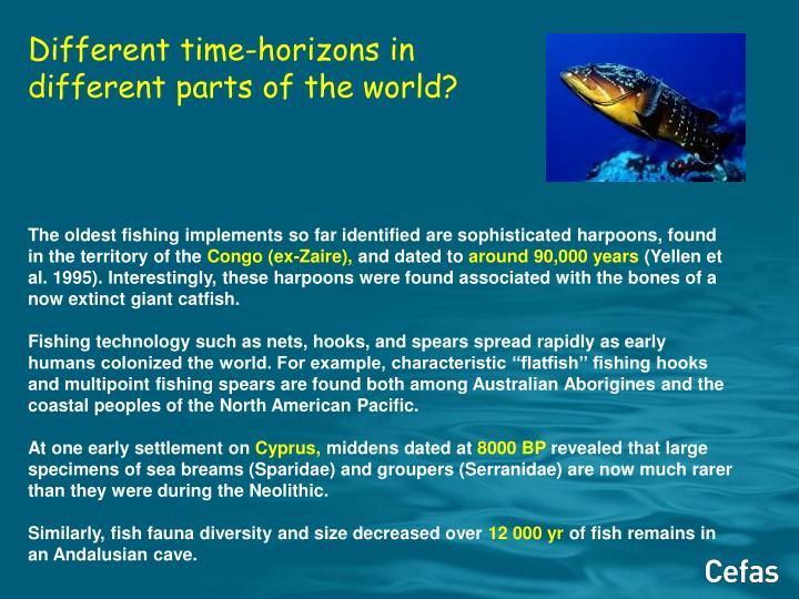 Different time-horizons in different parts of the world?