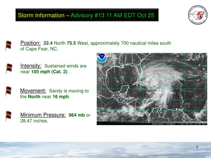 Storm Information