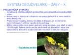 syst m oboj iveln k by x6