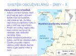 syst m oboj iveln k by x7